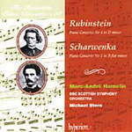 Produktbilde for Rubinstein: Piano Concerto No 4; Scharwenka: Piano Concerto No 1 (CD)