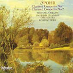 Spohr: Clarinet Concertos (CD)