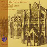 Byrd: The Great Service; Anthems; Voluntaries (CD)