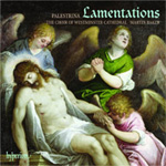Palestrina: Lamentations, Book 3 (CD)