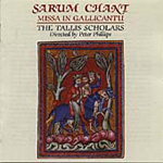 Sarum Chant - Missa in gallicantu (CD)