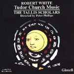 R White: Tudor Church Music (CD)