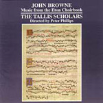 Browne: Music from the Eton Choirbook (CD)