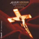 Allegri; Mundy; Palestrina: Choral Works (CD)