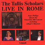 The Tallis Scholars Live In Rome (CD)
