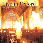 Tallis Scholars - Live in Oxford (CD)