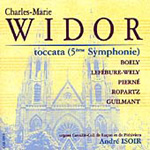 Widor: Toccata & other organ works (CD)