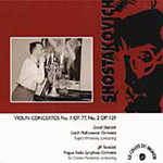Shostakovich: Violin Concertos (CD)