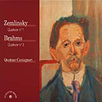 Brahms/Zemlinsky - String Quartets (CD)