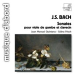 Bach: Sonatas for Viola da Gamba and Keyboard, BWV1027-29 (CD)