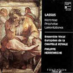 Lassus: Lamentations of Jeremiah (CD)