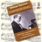 Simon Barere - Live at Carnegie Hall, Vol 5 (CD)