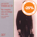 Produktbilde for Jacques Thibaud - The Complete Solo Recordings (UK-import) (CD)