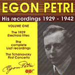 Egon Petri, Vol.1 (CD)