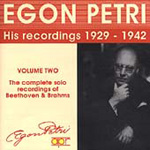 Egon Petri, Vol.2 (CD)