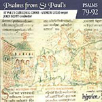 Psalms from St Paul's - Nos 79-92 (CD)