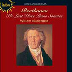 Beethoven: The Last Three Piano Sonatas (CD)