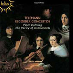 Telemann: Recorder Works (CD)