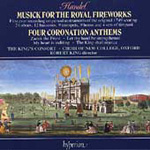 Handel: Coronation Anthems; Fireworks Music (CD)