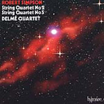 Simpson: String Quartets 2 & 5 (CD)