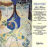 Stravinsky: Choral Works (CD)