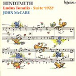 Hindemith: Piano Works (CD)