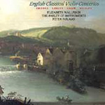 English Classical Violin Concertos (CD)