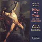 Boyce: Peleus and Thetis and other theatre music (CD)
