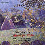Saint-Saëns: Works for Violin & Piano (CD)