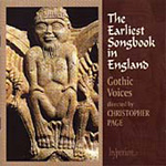 The Earliest Songbook in England (CD)
