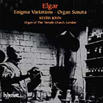 Elgar: Enigma Variations; Organ Sonata (CD)