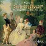 Mozart: Piano Quartets (CD)
