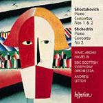 Produktbilde for Shostakovich; Shchedrin: Piano Concertos (CD)