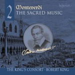 Monteverdi: The Sacred Music, Vol 2 (CD)