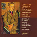 Lambert: Romeo and Juliet; Piano Concerto (CD)