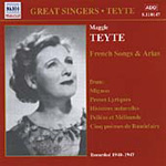 Maggie Teyte - French Songs and Arias (CD)