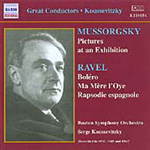 Koussevitzky Conducts Mussorgsky & Ravel (CD)