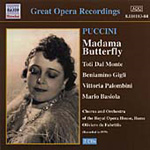 Puccini: Madama Butterfly (CD)