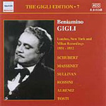 Baniamino Gigli - Gigli Edition Vol 7 (CD)
