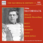 John McCormack Edition, Vol. 3: The Acoustic Recordings 1912-1913 (CD)