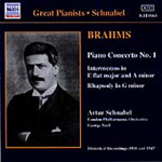 Brahms: Piano Concerto No 1 (CD)