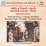 Italian Popular Songs, Vol 2 (CD)