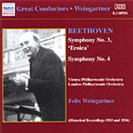 Beethoven: Symphonies Nos 3 and 4 (CD)