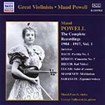 Maud Powell - The Complete Victor Red Seal Recordings 1904-1917, Vol 1 (CD)