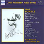 Maud Powell - Complete Recordings 1904-17, Volume 3 (CD)