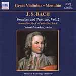 Bach: Sonatas and Partitas, Volume 2 (CD)