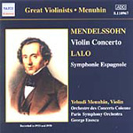 Lalo: Symphonie Espagnole; Mendelssohn: Violin Concertos in E minor (CD)