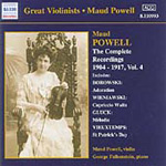 Maud Powell - Complete Recordings Vol 4 (CD)