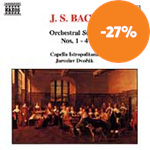 Bach: Orchestral Suites Nos 1-4 (CD)