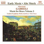 Gabrieli: Music for Brass, Volume 3 (CD)